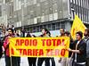 Segundo Ato chamado pelo Movimento Passe Livre em Florianópolis dia 25 de junho/2013