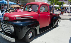 custom car(0.0), auto show(0.0), chevrolet advance design(0.0), automobile(1.0), automotive exterior(1.0), pickup truck(1.0), vehicle(1.0), truck(1.0), hot rod(1.0), antique car(1.0), land vehicle(1.0), motor vehicle(1.0),