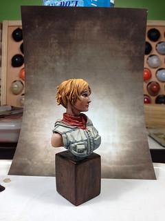 Buste Heather - 1er pas à l'huile 9195677664_5a701b8d5b_n