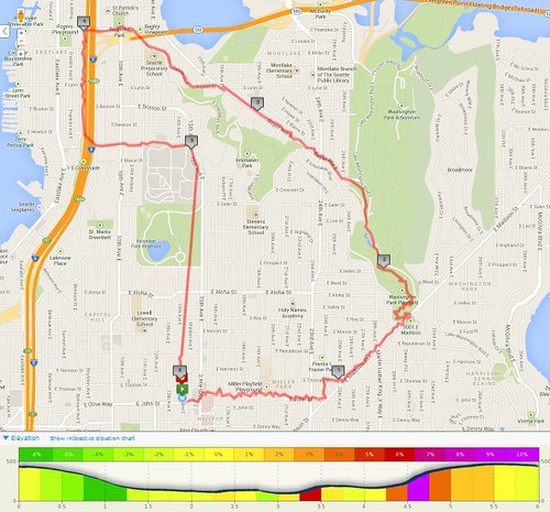 Today's awesome walk, 6 miles in 1:45 by christopher575