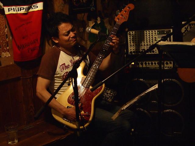 MACOTO & YOSHITAKA live at The Warrior Celt, Tokyo, 05 Jul 2013. 016