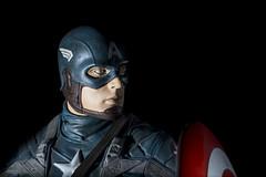 superhero, captain america, costume, darkness,