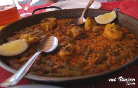 Paella Valenciana, Valencia