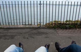 Petite pause sur la Royal Esplanade de Ramsgate