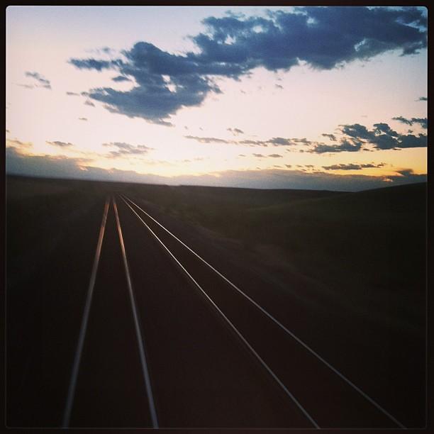 Sunrise somewhere in Washington.