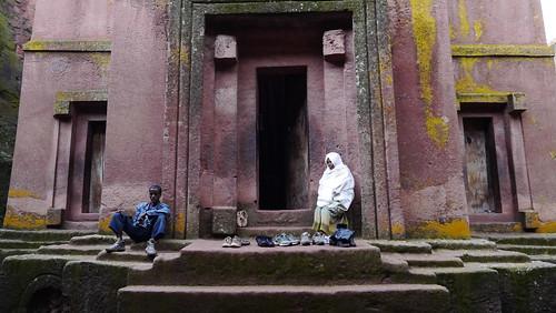 Iglesia de Saint George, Lalibela, Etiopía