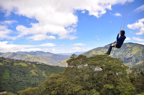 Swing at the End of the World, Baños, Ecuador