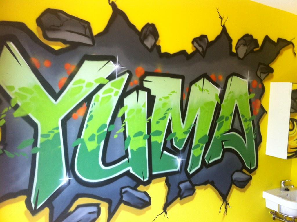 Behang Babykamer Utrecht : graffiti kinderkamer