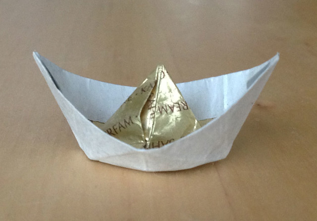 First paperboat