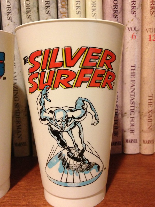 Silver Surfer Slurpee Cup