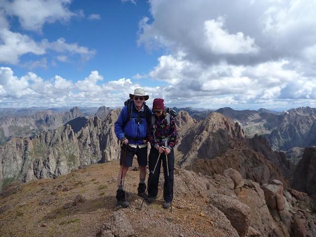 on Turret summit