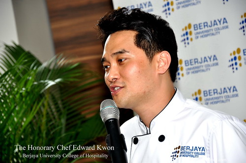 The Honorary Chef Edward Kwon of Berjaya University College of Hospitality 10