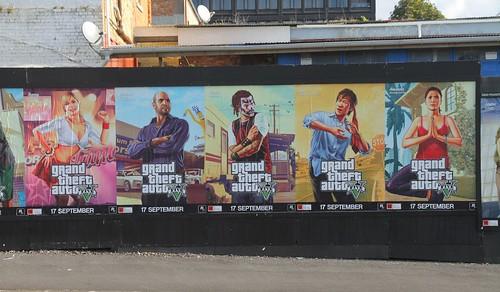Постеры GTA 5