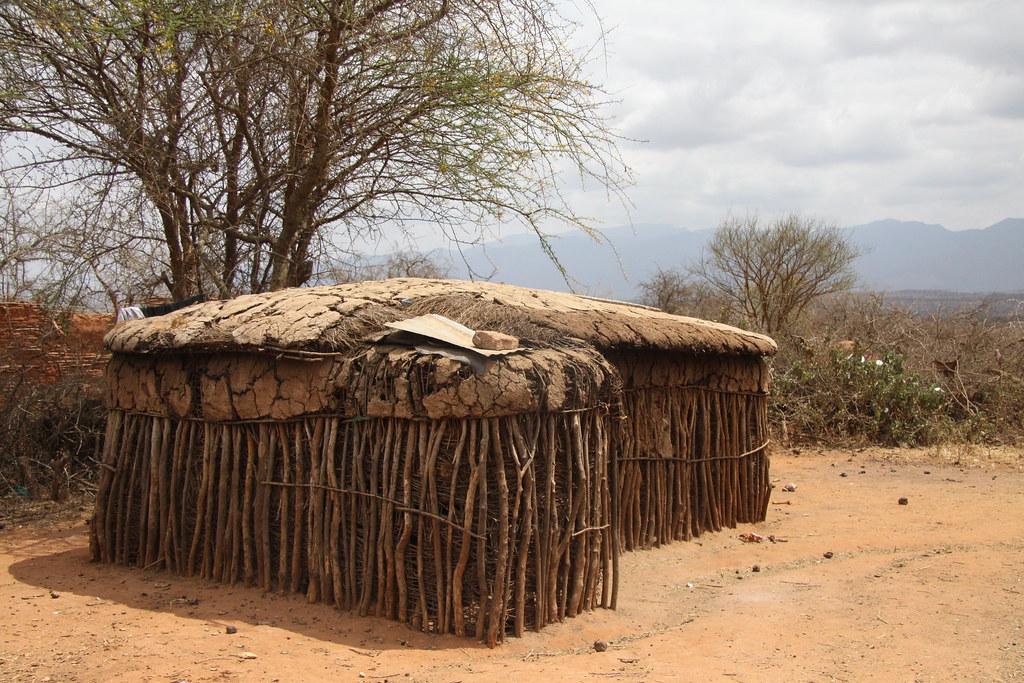 Masai house