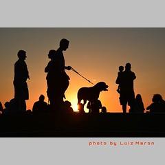Pôr do Sol no Parque da Cidade - Niterói - Brasil