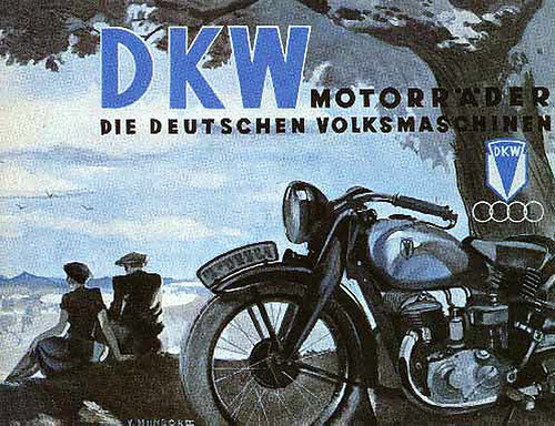 1935 DKW Motorcycles by bullittmcqueen