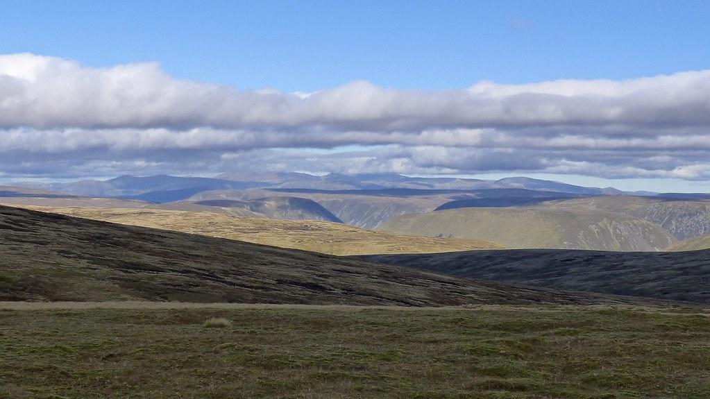 Cairngorms from A' Bhuidheanach Bheag