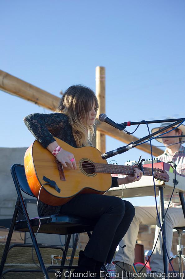 Jessica Pratt @ Woodsist Festival, Pappy and Harriet's, Pioneertown, CA 9/28/13