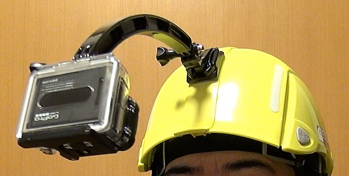 ヘルメットBLOOM GoPro ARM