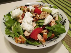 meal, spinach salad, breakfast, panzanella, salad, greek food, food, dish, cuisine, tuna salad, waldorf salad,