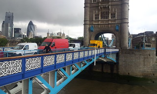 Tower bridge rush hour
