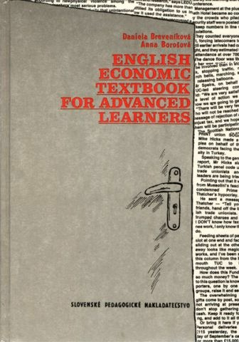 English economic textbook for advanced learners