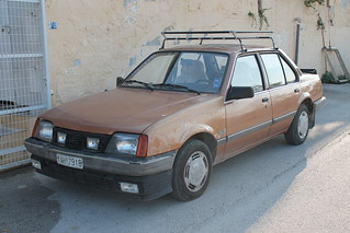 1984-86 Opel Ascona 1.6 S GLS