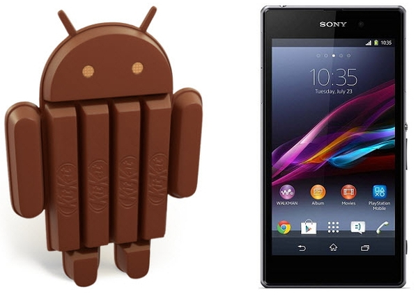 Android 4.4 для Sony Xperia