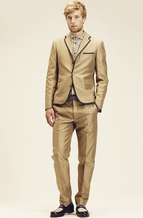 BOTTEGA VENETA  2014 CRUISE MENS COLLECTION008_Kim Fabian von Dall'armi