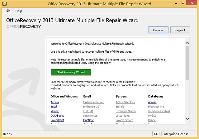 OfficeRecovery 2013 Ultimate 13.0.40450 注册版