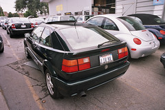 VW Corrado, 1993, VR6. left rear