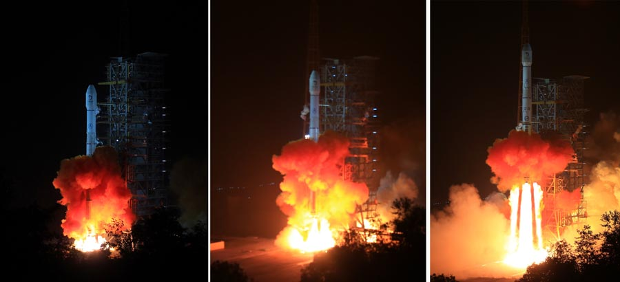 (FOCUS)CHINA-SCIENCE-CHANG'E-3-LAUNCH (CN)