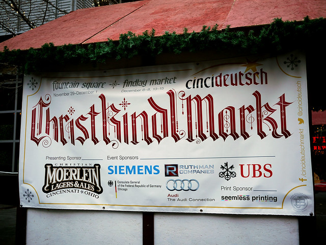 Cincideutsch Christkindlmarkt
