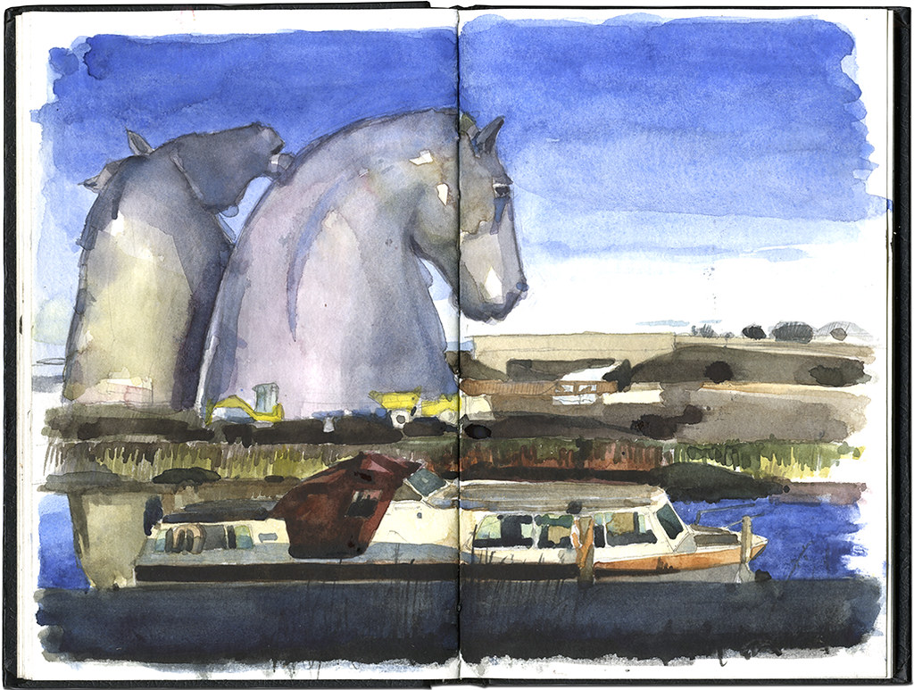 The Kelpies by Wil Freeborn