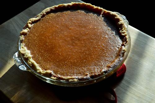 Tangy Creamy Pumpkin Pie
