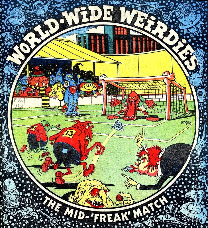 Ken Reid - World Wide Weirdies 133