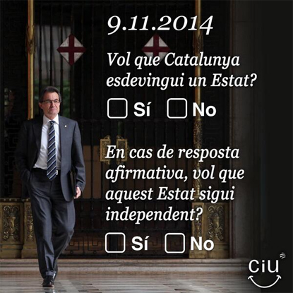13l12 Pregunta referéndum catalán Uti 415
