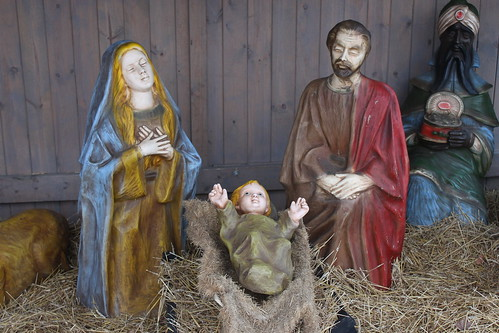 Nativity Scene at Trinity Evangelical Lutheran Church (Saline, Michigan)