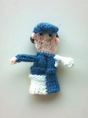 Travis Pastrana finger puppet