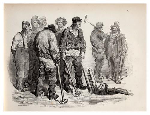 008-Ratas de alcantarilla-La Ménagerie parisienne, par Gustave Doré -1854- Fuente gallica.bnf.fr-BNF
