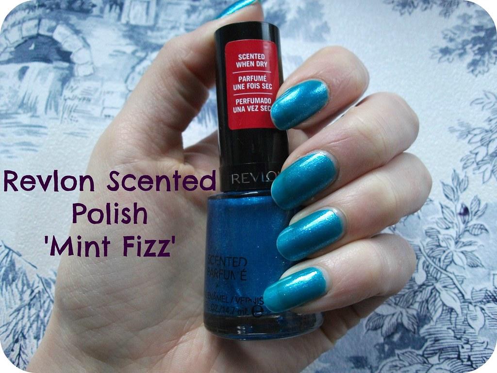 Revlon Scented Polish Mint Fizz NOTD