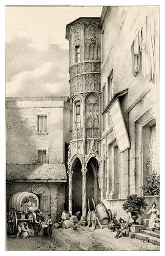 010-Souvenir du vieux Paris…1835- L.T. Turpin de Crissé- Institut National d'histoire de l'art- INHA