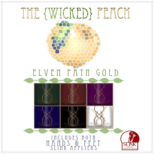 Wicked Peach Advert Elven Path Gold