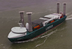 E Ship One 1 Enercon Ship Propelled By Flettner Rotors Ae Flickr