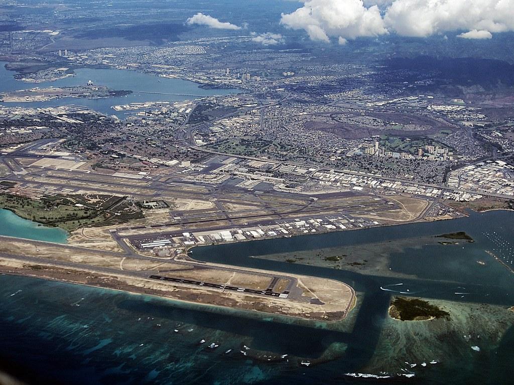 Hickam Air Force Base Map - Hawaii - Mapcarta
