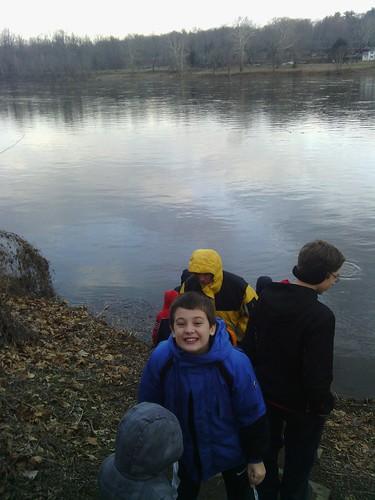 Dec 31 2013 Delaware River Clark