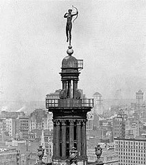 Diana atop Madisin Square Garden