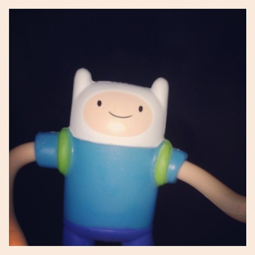 Finally found a McDonalds with Adventure Time toys!!!! #finnthehuman #adventuretime #happymeal