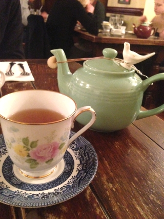 Tea in Alice's Tea Cup, Central Park, New York