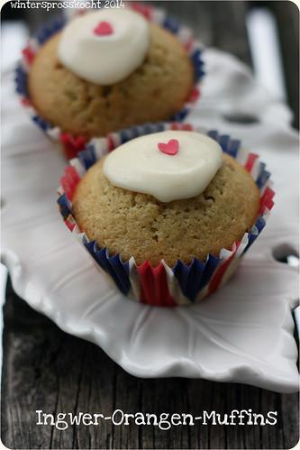 Ingwer-Orangen-Muffins